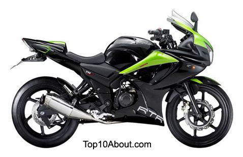 Top 10 Best Selling Bikes of TVS in India