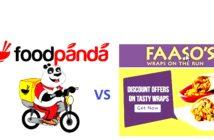 FAASOS OFFERS VS FOODPANDA OFFERS