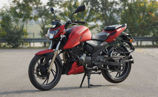Apache RTR series - Starting from Rs. 76,576