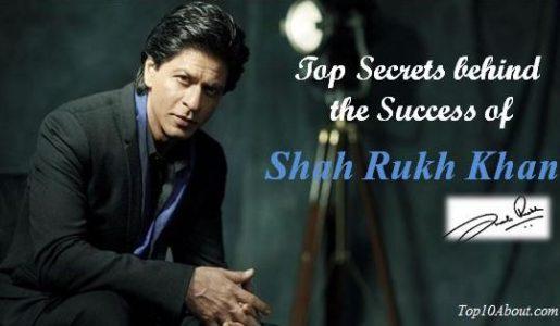 Top 10Secrets Behind the Success of Shah Rukh Khan