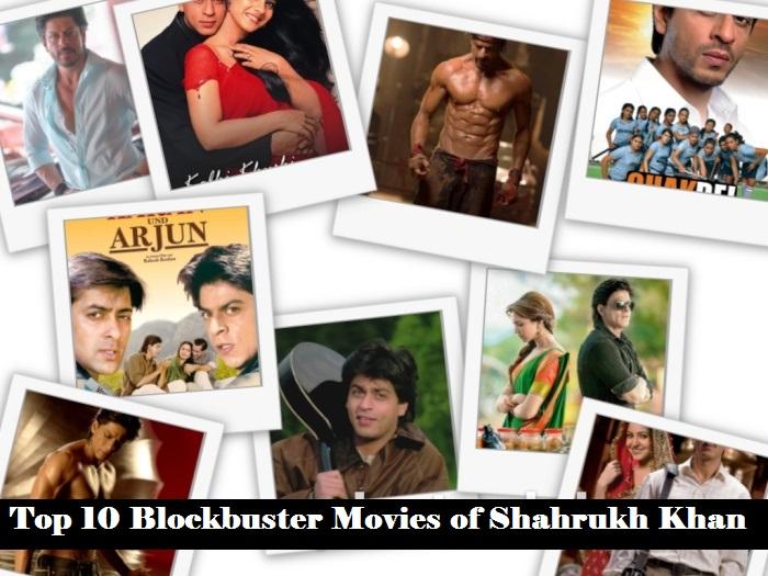 shahrukh top 10 movies