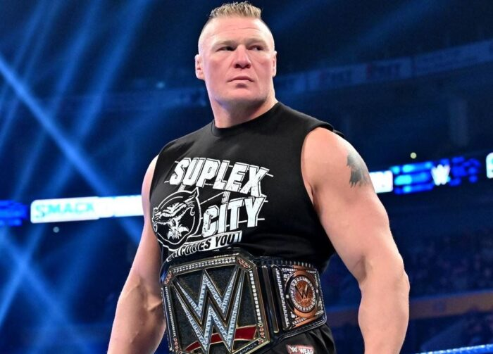 Brock Lesnar- Top 10 Highest-Paid WWE Wrestlers