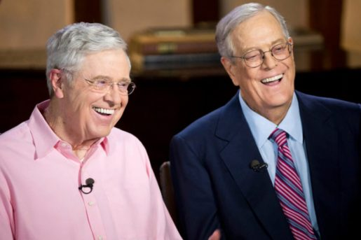 Charles and David are one of the top 10 most powerful American people