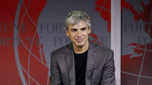 Larry Page is one of the Top 10 Most Powerful People in the World