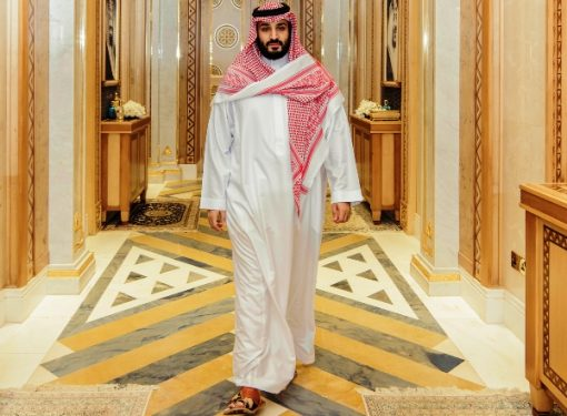 Mohammed bin Salman Al Saud is one of the Top 10 Most Powerful People in the World