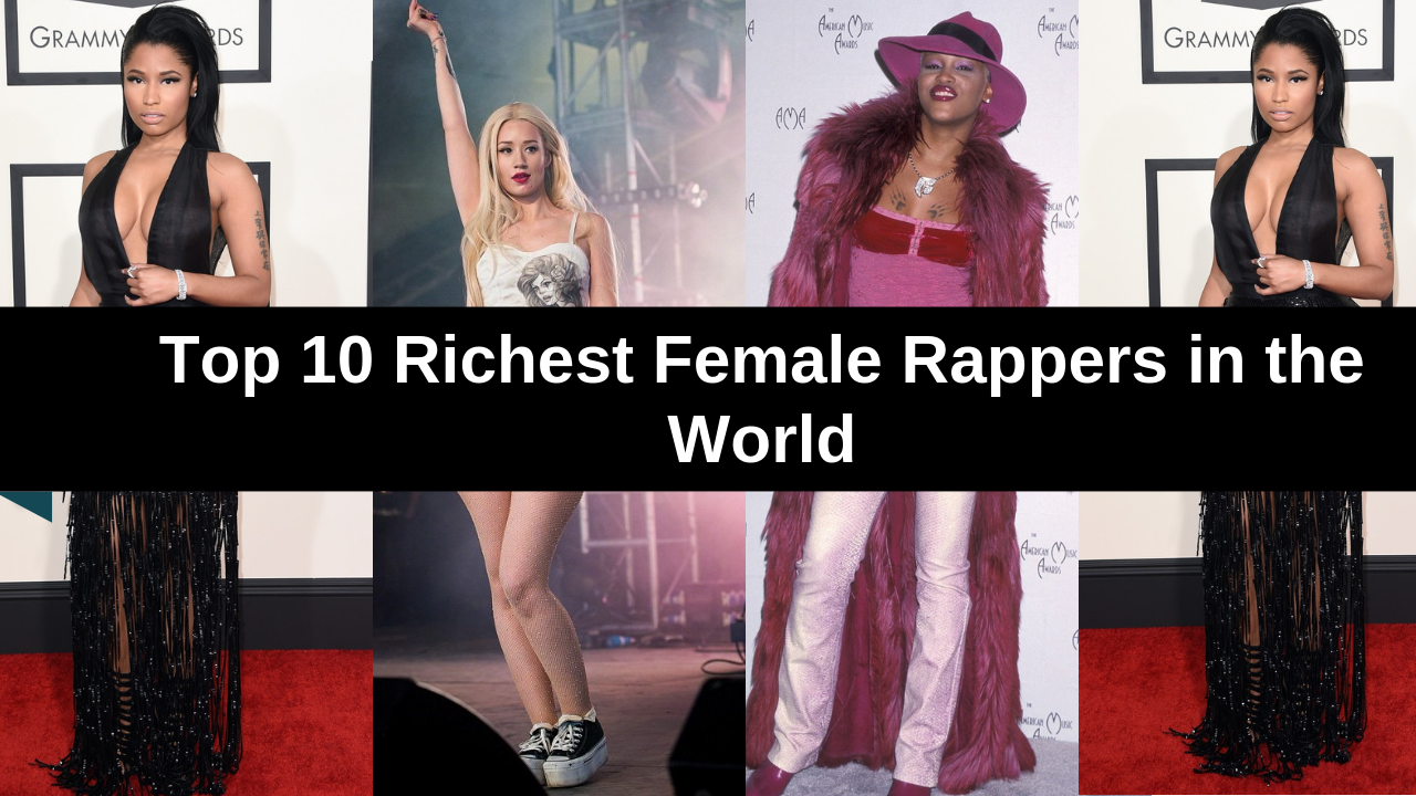 Top 10 Richest Female Rappers in the World - Top 10 About